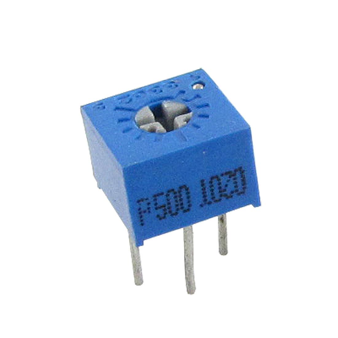 3362P 50 ohm Trimmer Pot Potentiometers Variable Resistors 50pcs