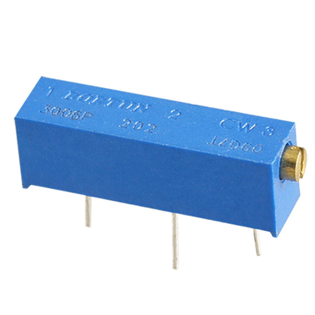 25pcs 3006P 2K ohm Trimmer Pot Potentiometers Variable Resistor