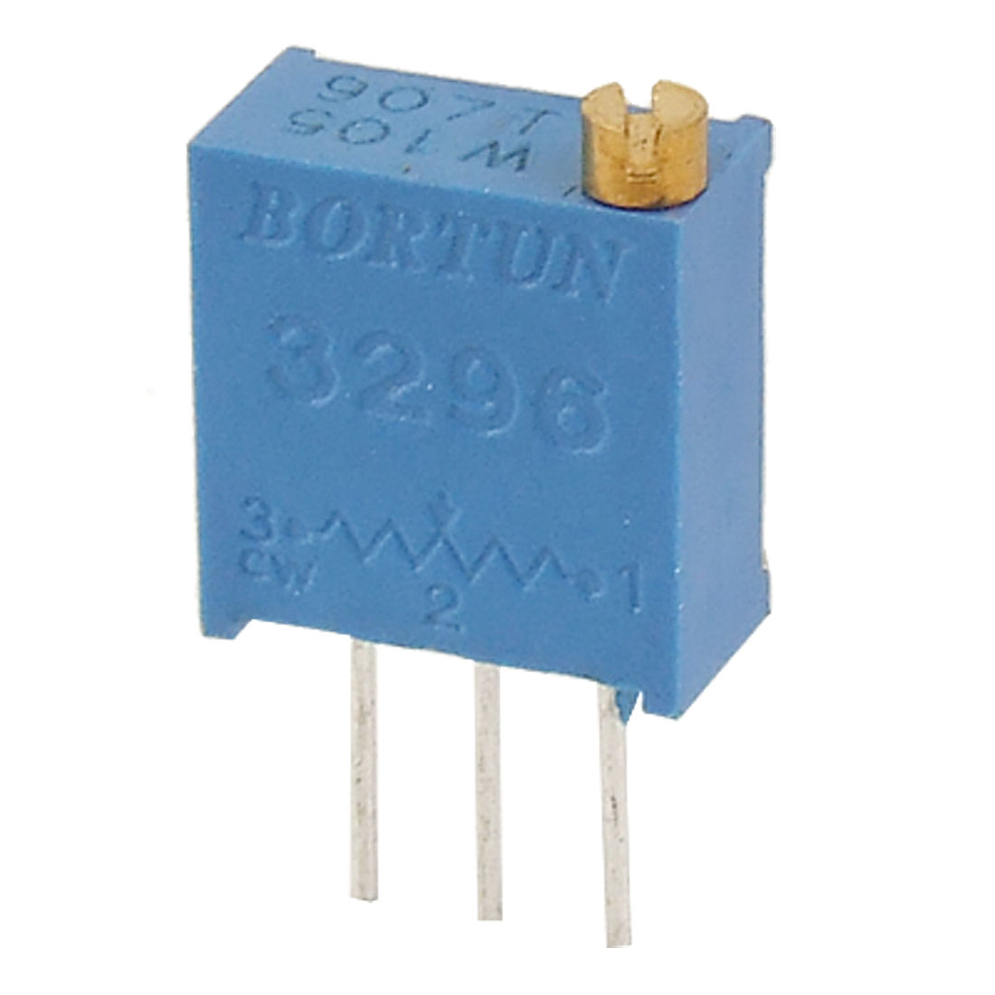 50 Pcs 3296W 1M ohm Multiturn Potentiometer Pot Variable Resistor