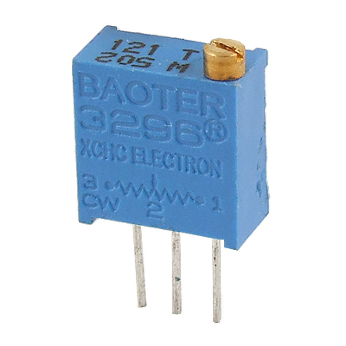 "3296W 502 5K ohm 3/8"" Square Trimmer Pot Potentiometer 50 Pcs"