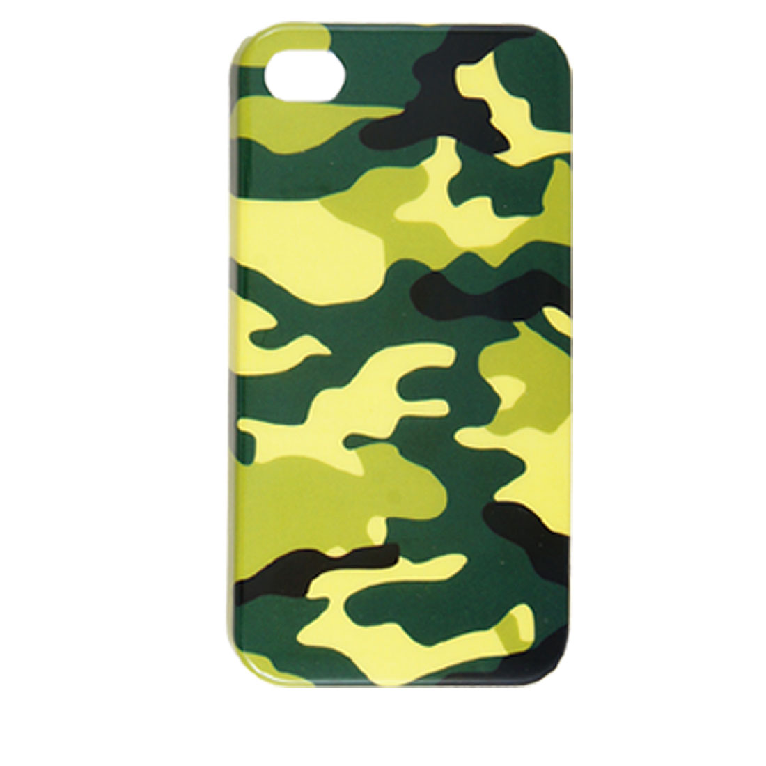 Camouflage Printed Hard Plastic Back Case for iPhone 4 4G