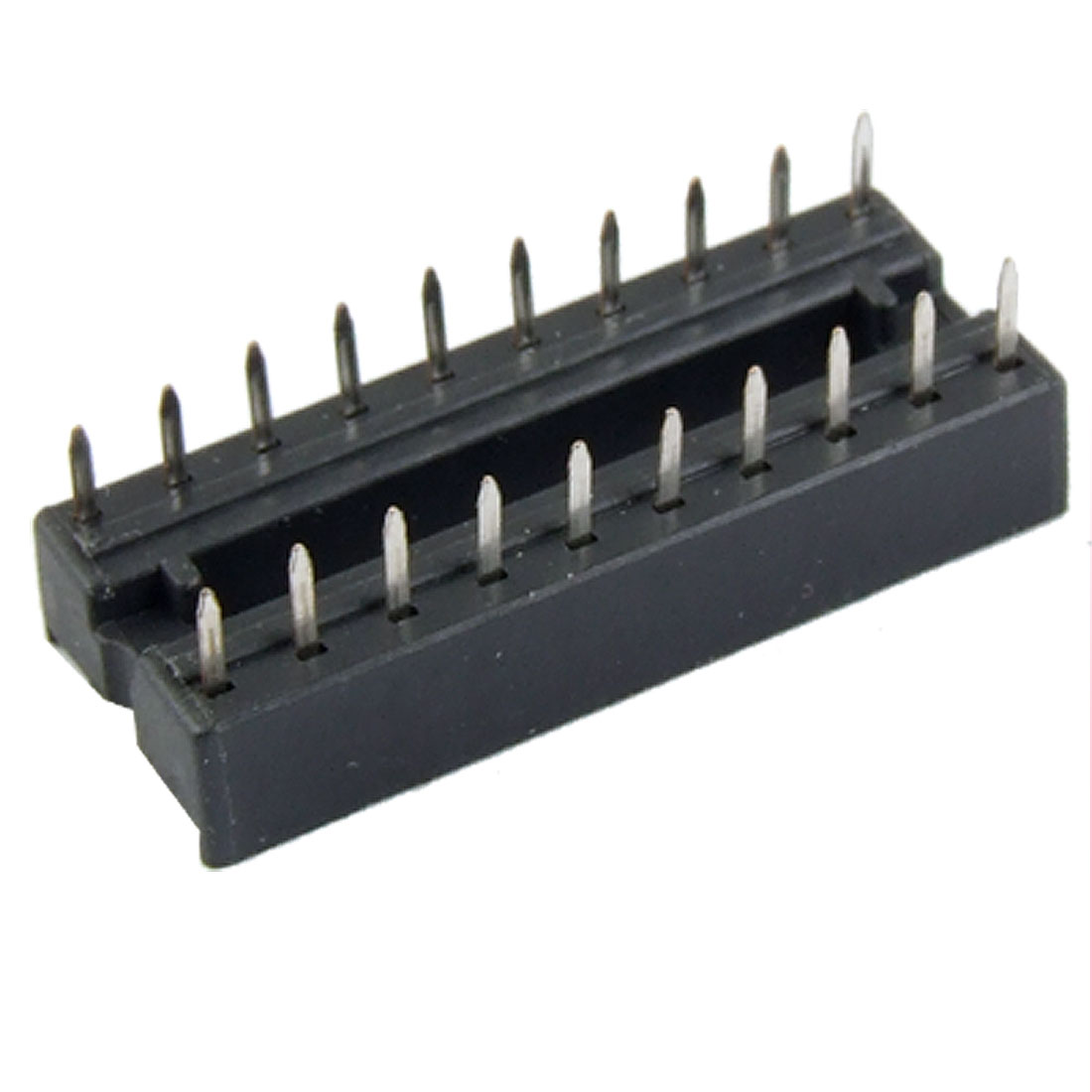 24 Pcs 20 Pin Solder Type 2.54mm Pitch DIP IC Sockets Adaptors