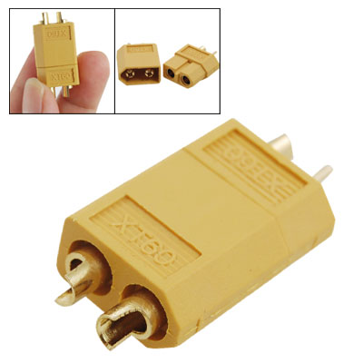 XT60 Type Connector Yellow for Model Aircraft