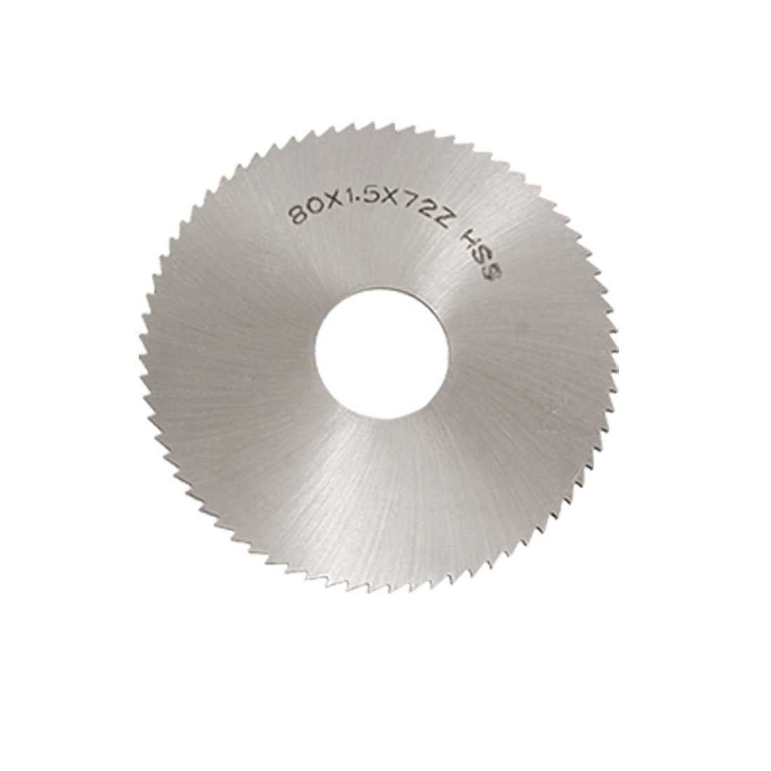 80 x 1.5 x 72 Cut HSS Groove Circle Saw Mill Milling Cutter