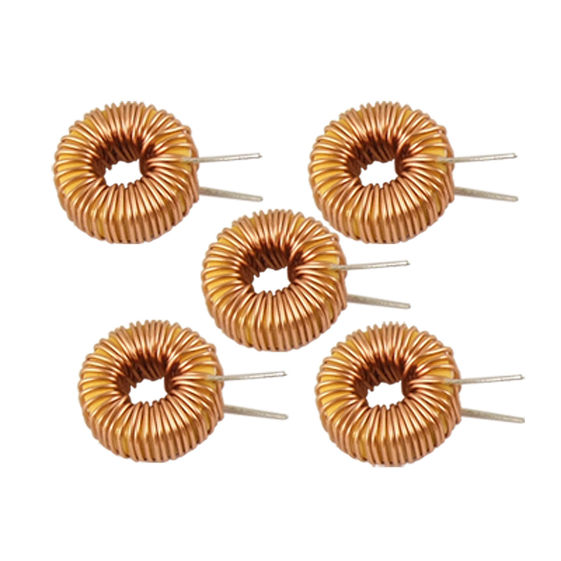 Electronic Circuit 100uH Rated Current 4A Toroidal Inductors 5 Pcs