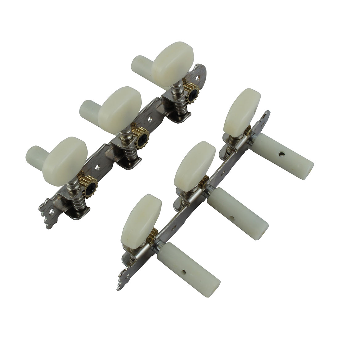 2 Pcs Classical Guitar Right Left Tuning Peg Machine Head Tuners