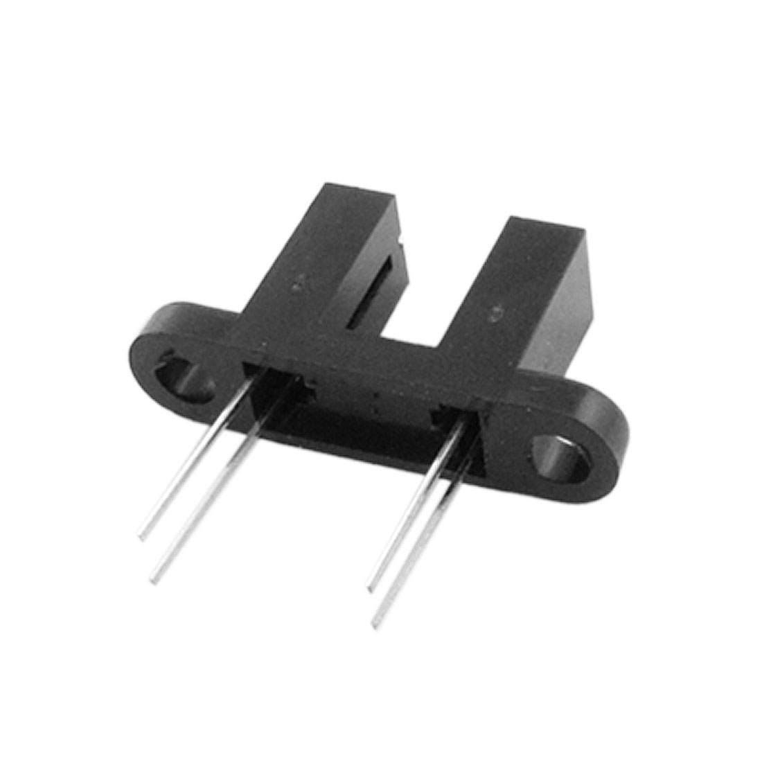"10 Pcs 15/64"" Gap 4 Pins Optical Slot Switch w Bracket"