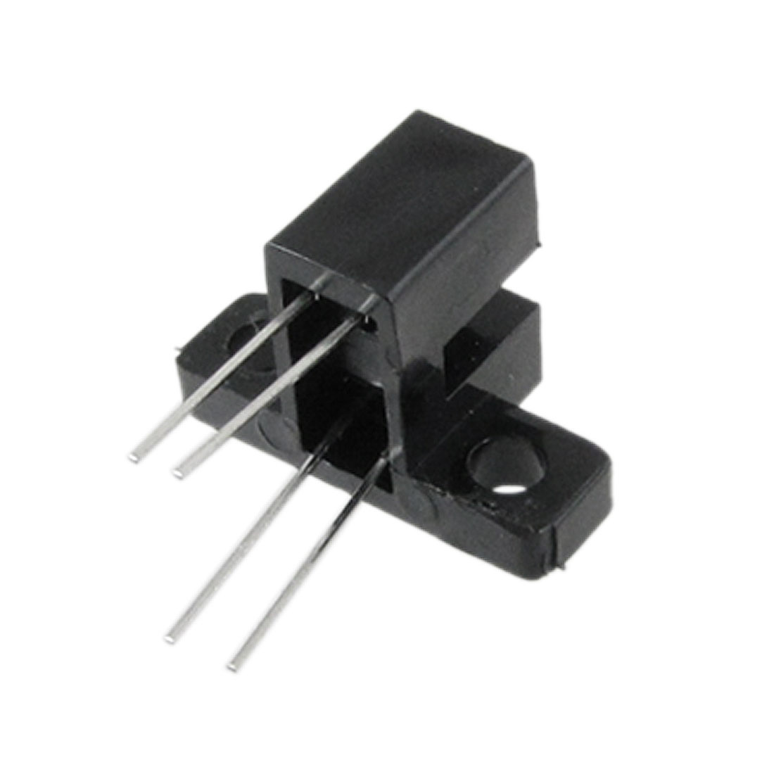 "10 Pcs 3/25"" Gap 4 Pins Slotted Optical Switch HY805 w Bracket"