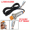 LJ18A3-8-Z/BX DC 6-36V NPN NO 3-wire 8mm Tubular Inductive Proximity Sensor Switch 300 mA