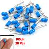 20 Pcs 4mm x 6mm DIP 100UH Electronic Circuit Inductors