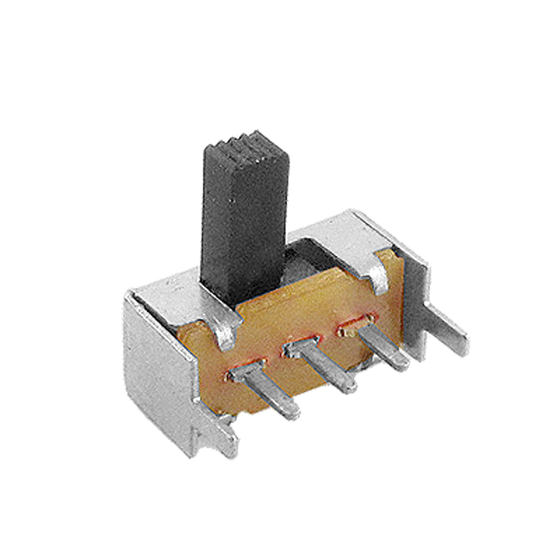 10 Pcs On/On 2 Position 1P2T SPDT Mini Horizontal Slide Switch 3 Terminals PCB SK12F14