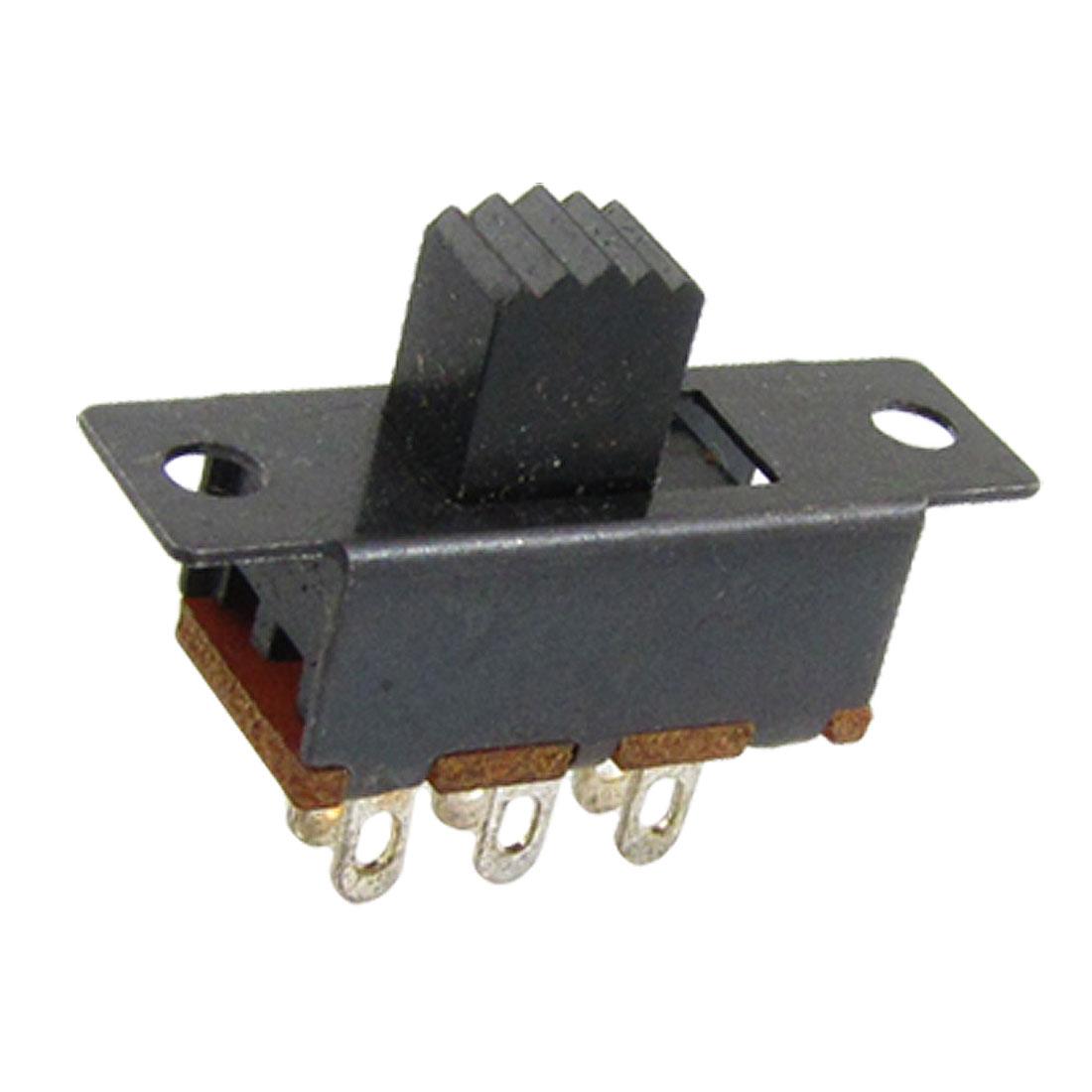 10 Pcs x ON/ON 2 Position DPDT 2P2T ON/ON Slide Switch 6 Solder Lug SS22F32-G6
