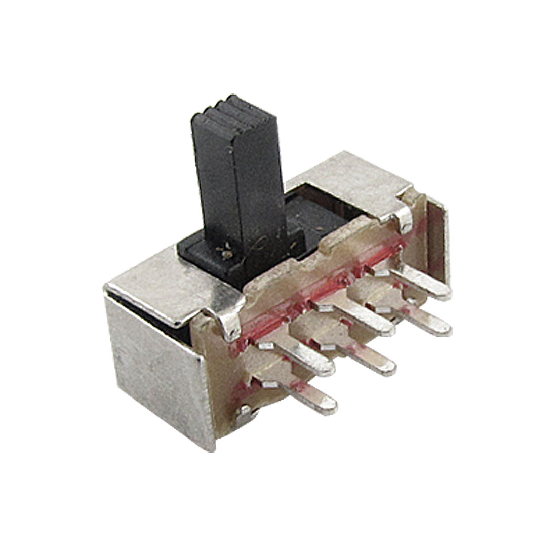 10 Pcs x 7mm High Side Knob 6 Pin 2 Position DPDT 2P2T Slide Switch 0.5A 50V DC