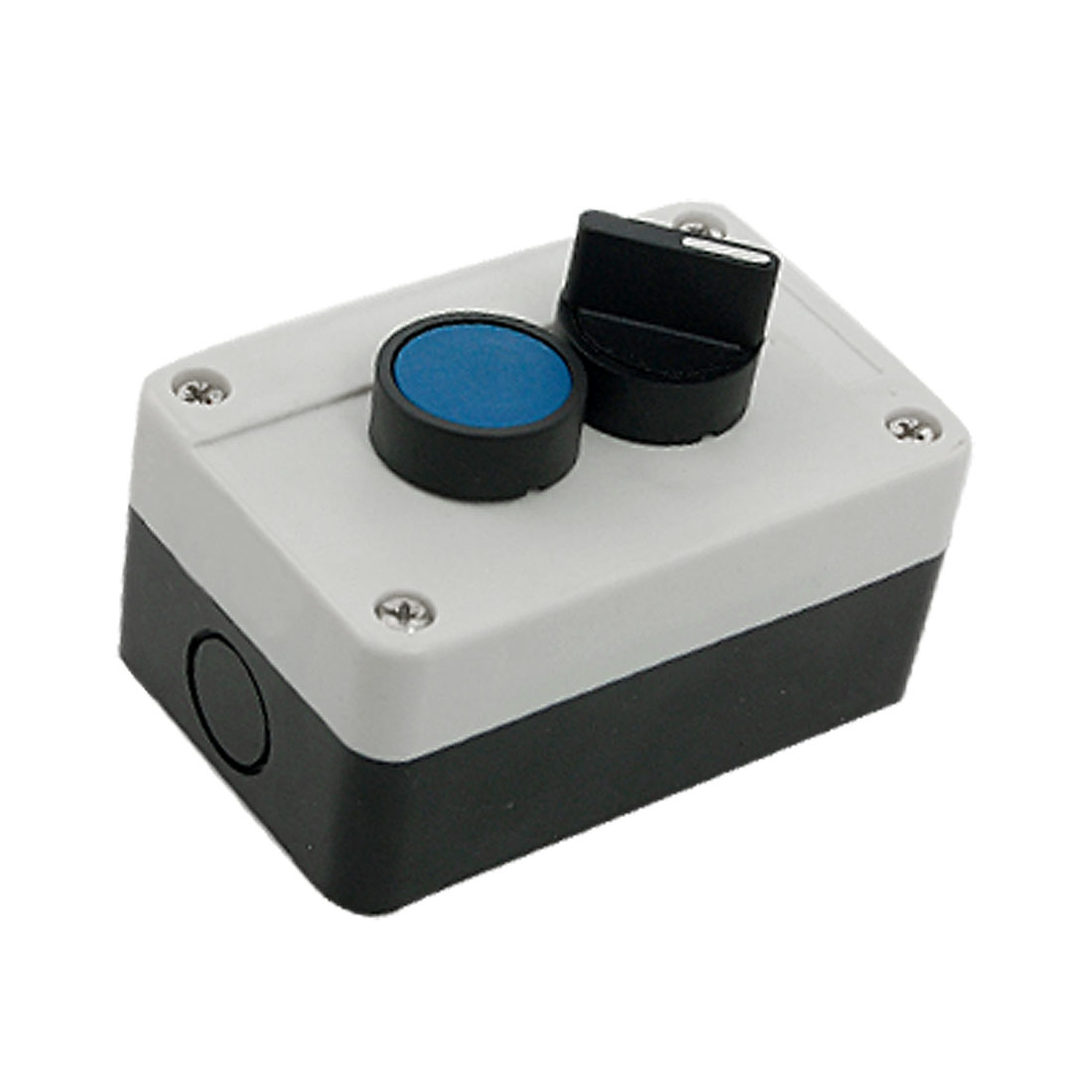 Emergency Rotary Blue Momentary Push Button Switch Station
