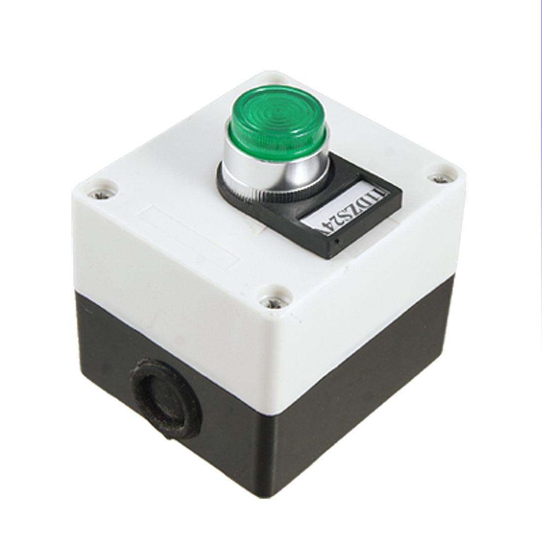 1NO 1NC Contact Self Locking Push Button Switch Station