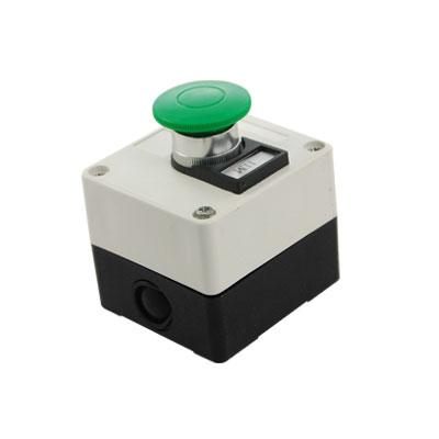 Grn Mushroom Momentary Switch Push Button Station 660V