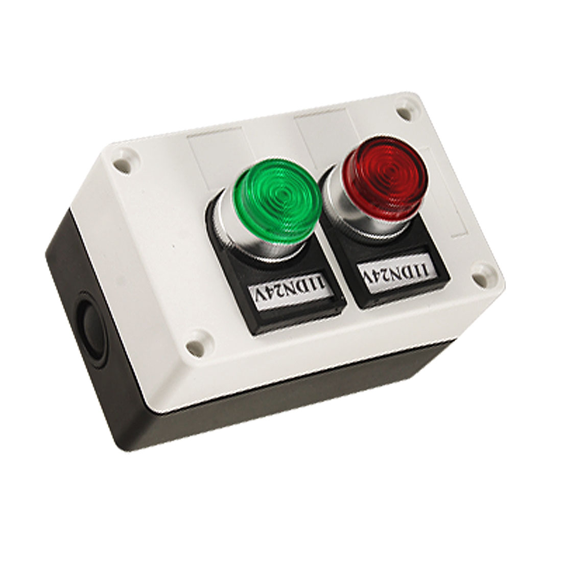 Red Green Signal Light Momentary Switch Push Button Station