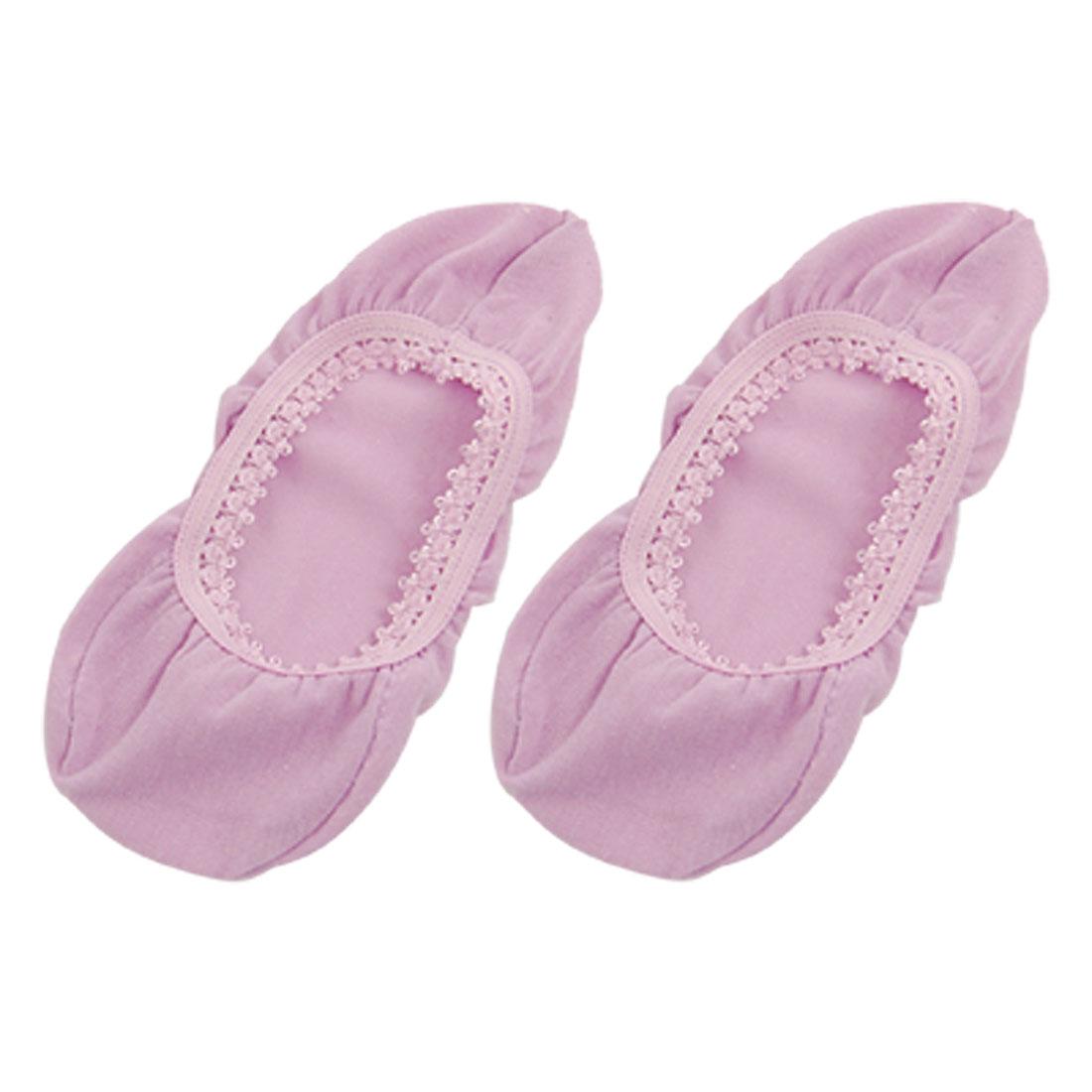 Women Summer Elastic Low Ankle Soft Boat Socks Purple
