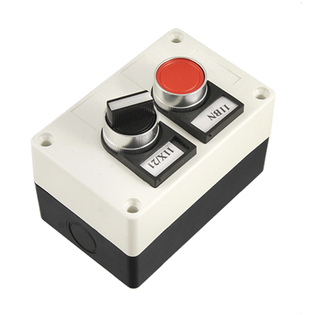 Momentary Flat Push Button Switch 3 Positin Switch Station