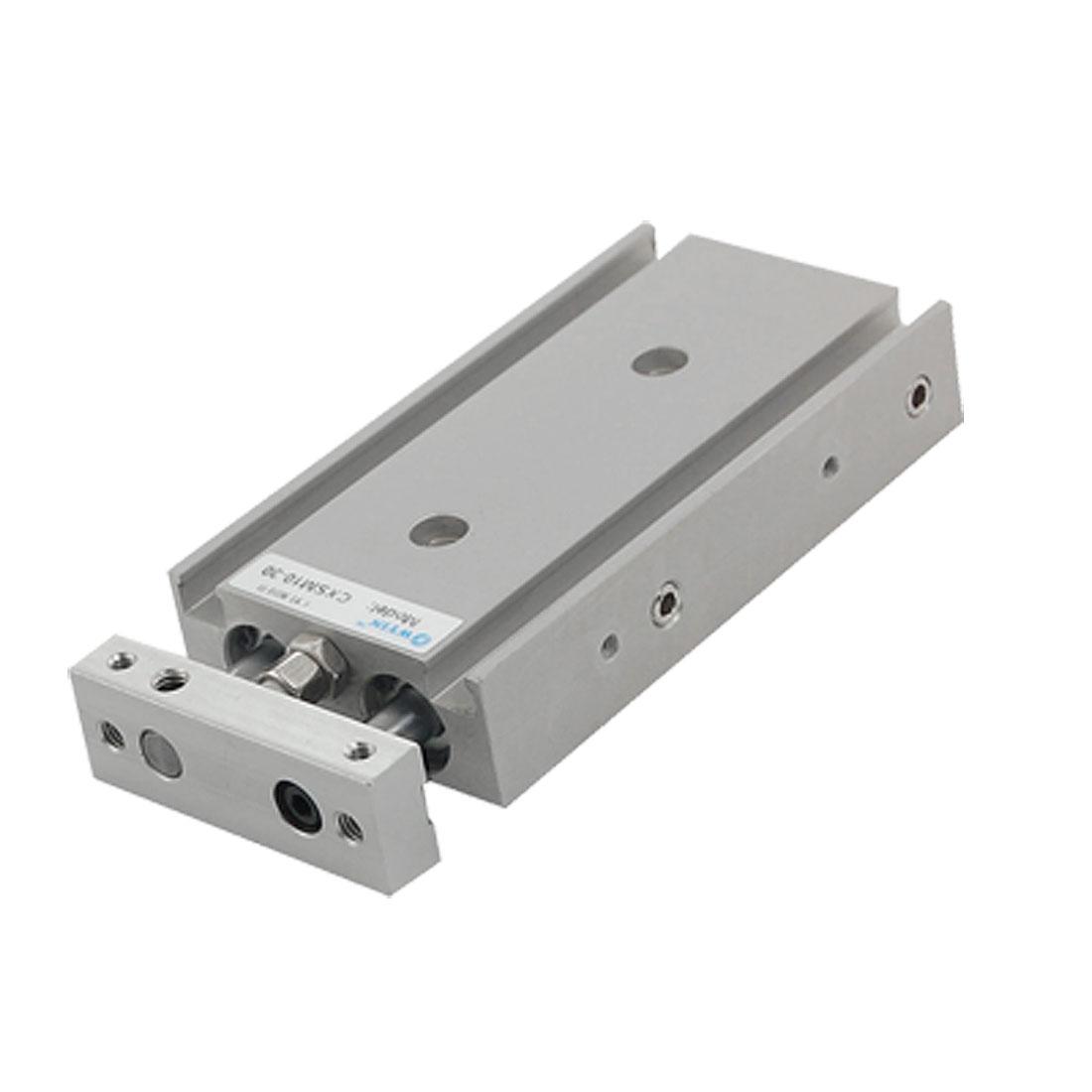 "CXSM10-30 Dual Rod Slide Baring 3/8"" Bore 1 1/5"" Stroke Cylinder"