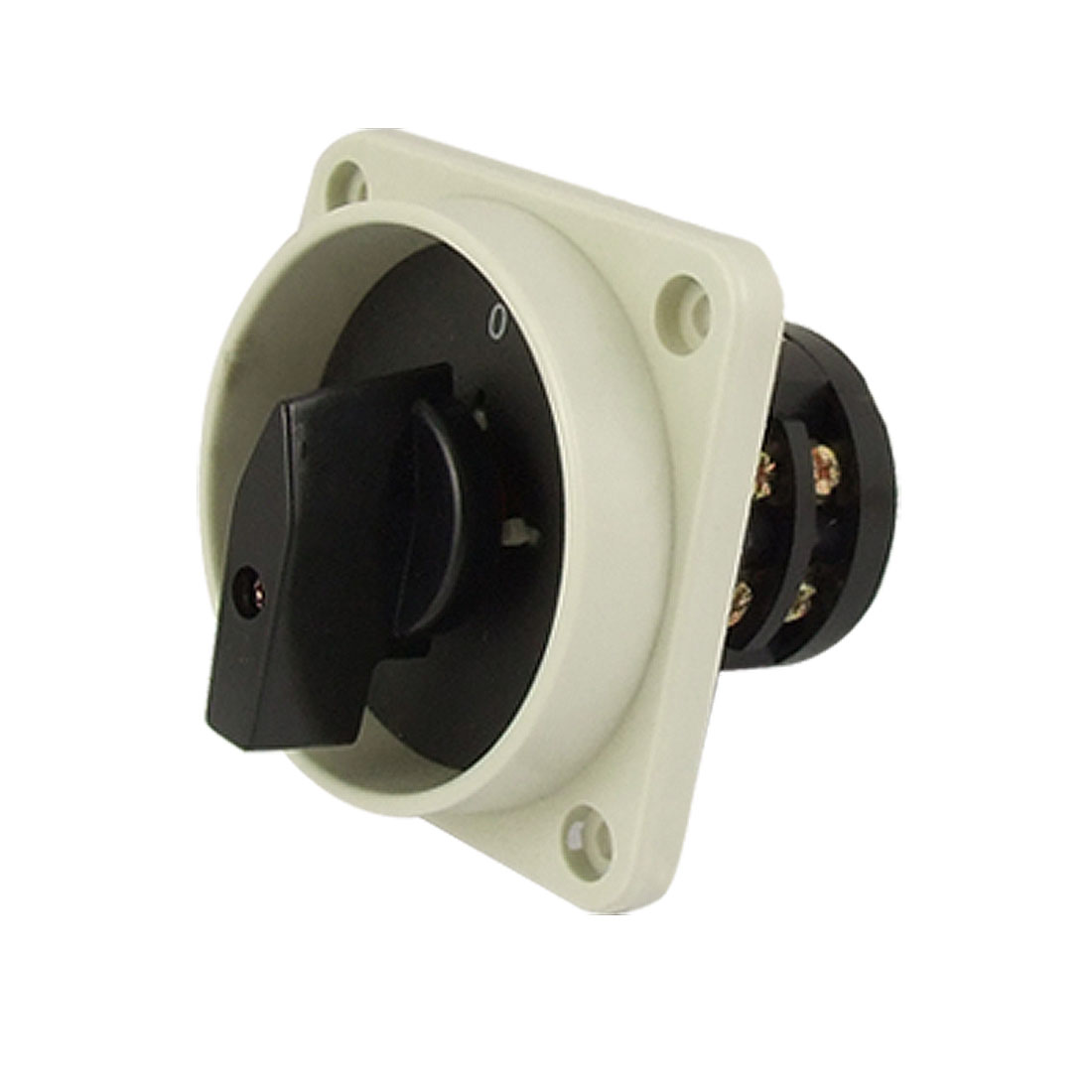 """3"""" x 3"""" Plate Rotary Voltmeter Selector Cam Switch"""