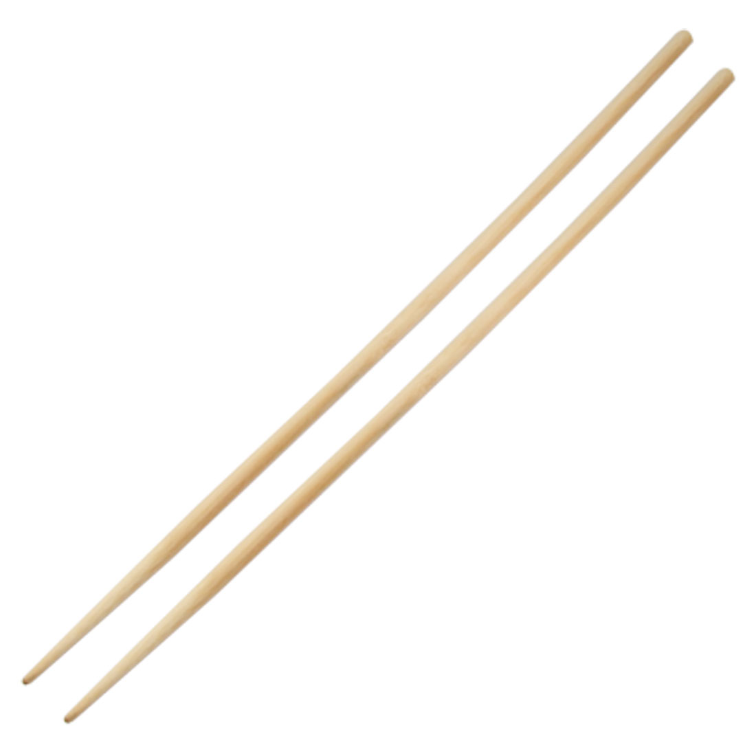"Pair 17.7"" Long Beige Bamboo Chopsticks for Hot Pot"