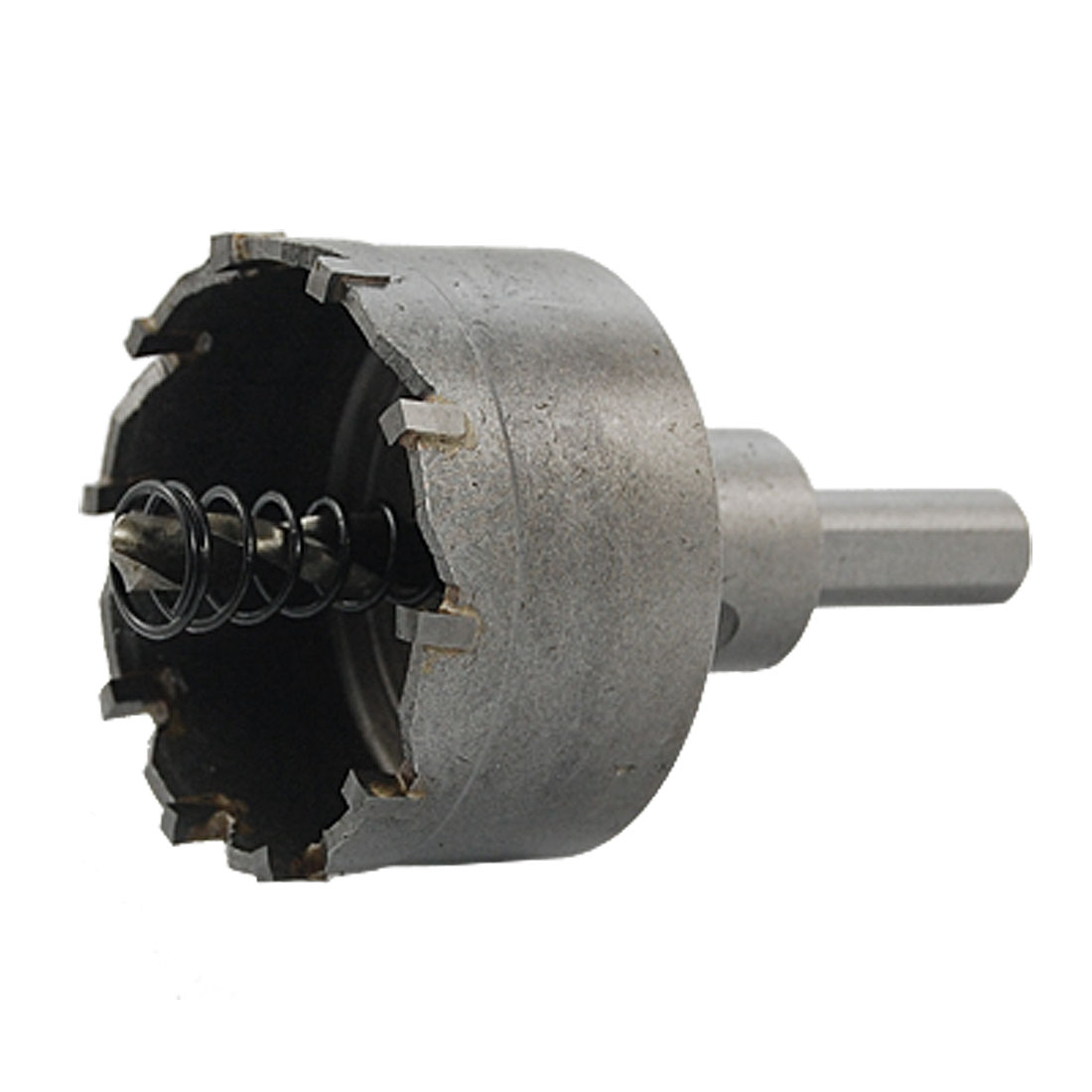 Alloy Cutting Undetachable Drill Bit Inside 50mm Diameter Hole Saw