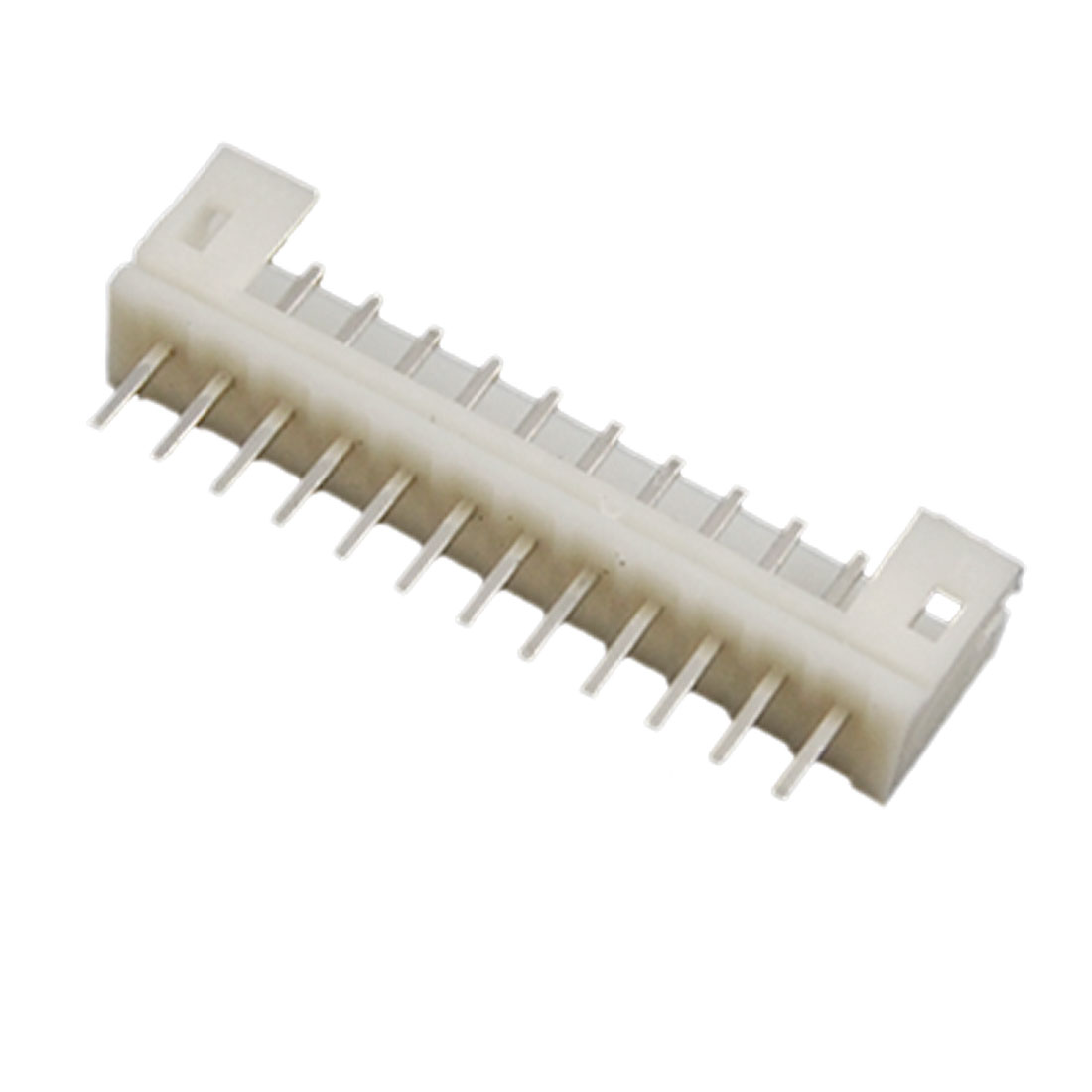 100 Pcs 2mm Pitch 12 Pins PCB Pressure Welding Bar Connector White