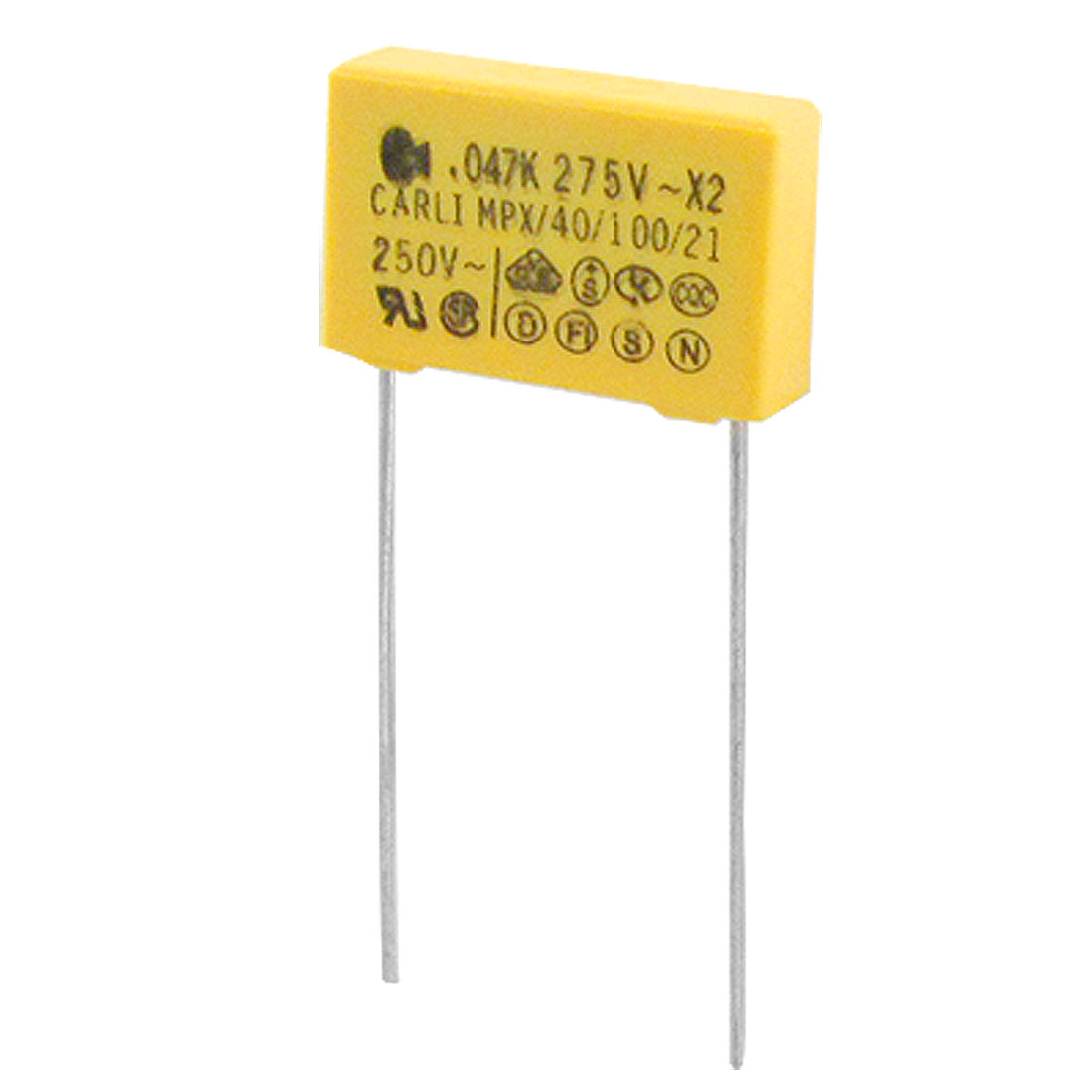 10pcs 250V 47nF 0.047uF 10% Polypropylene Film Safety Capacitor