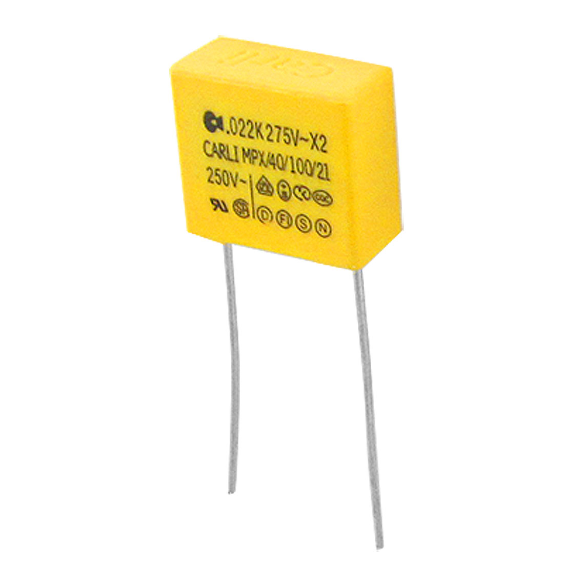 10pcs 0.022uF 22nF 250V 10% Polypropylene Safety Capacitor MPX