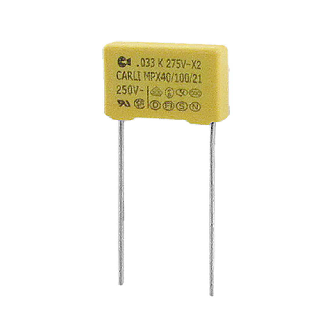 MPX AC 275V 0.033uF Polypropylene Film Safety Capacitors 10 Pcs
