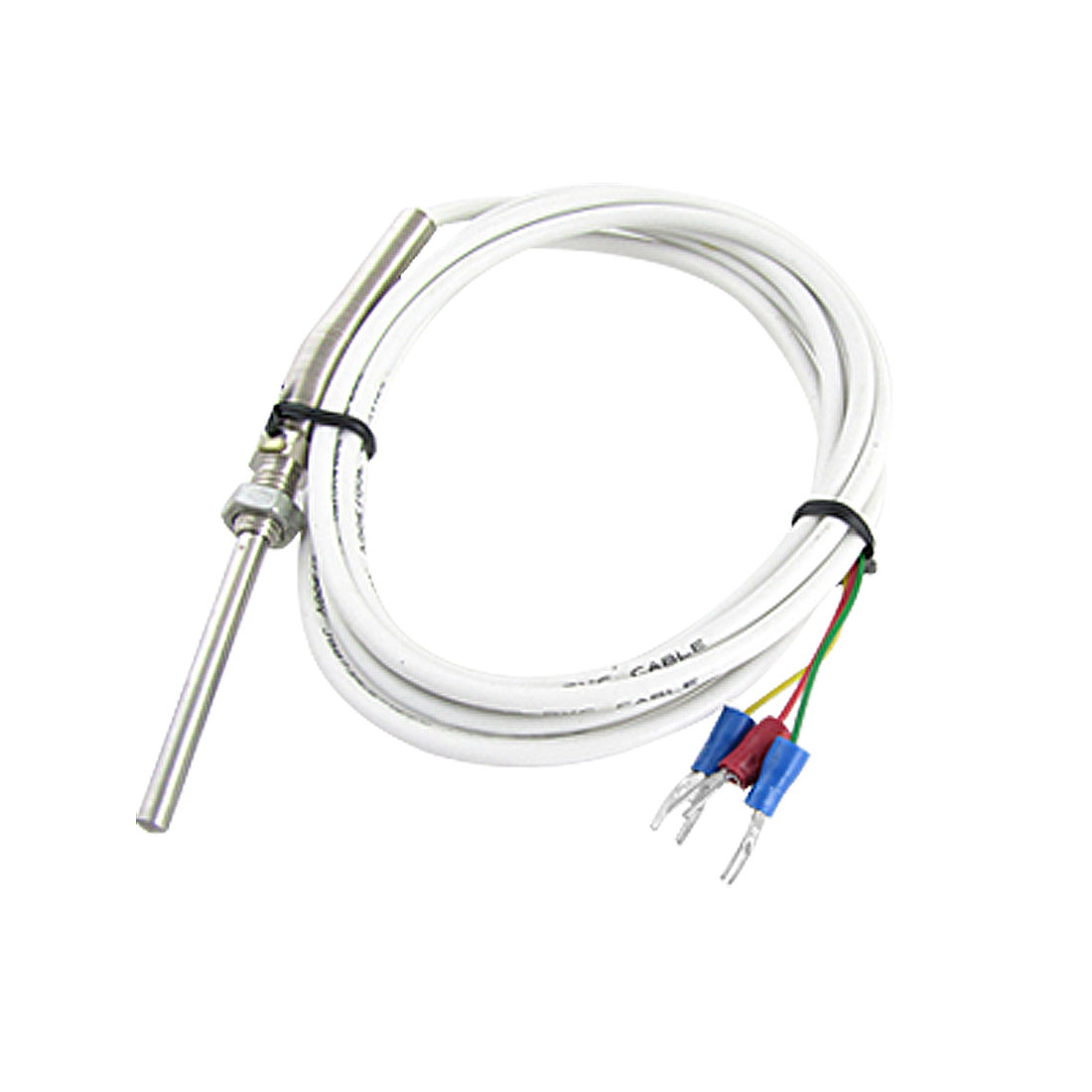 PT100 1.9M Cable 5cm Probe Temperature Sensor Thermocouple