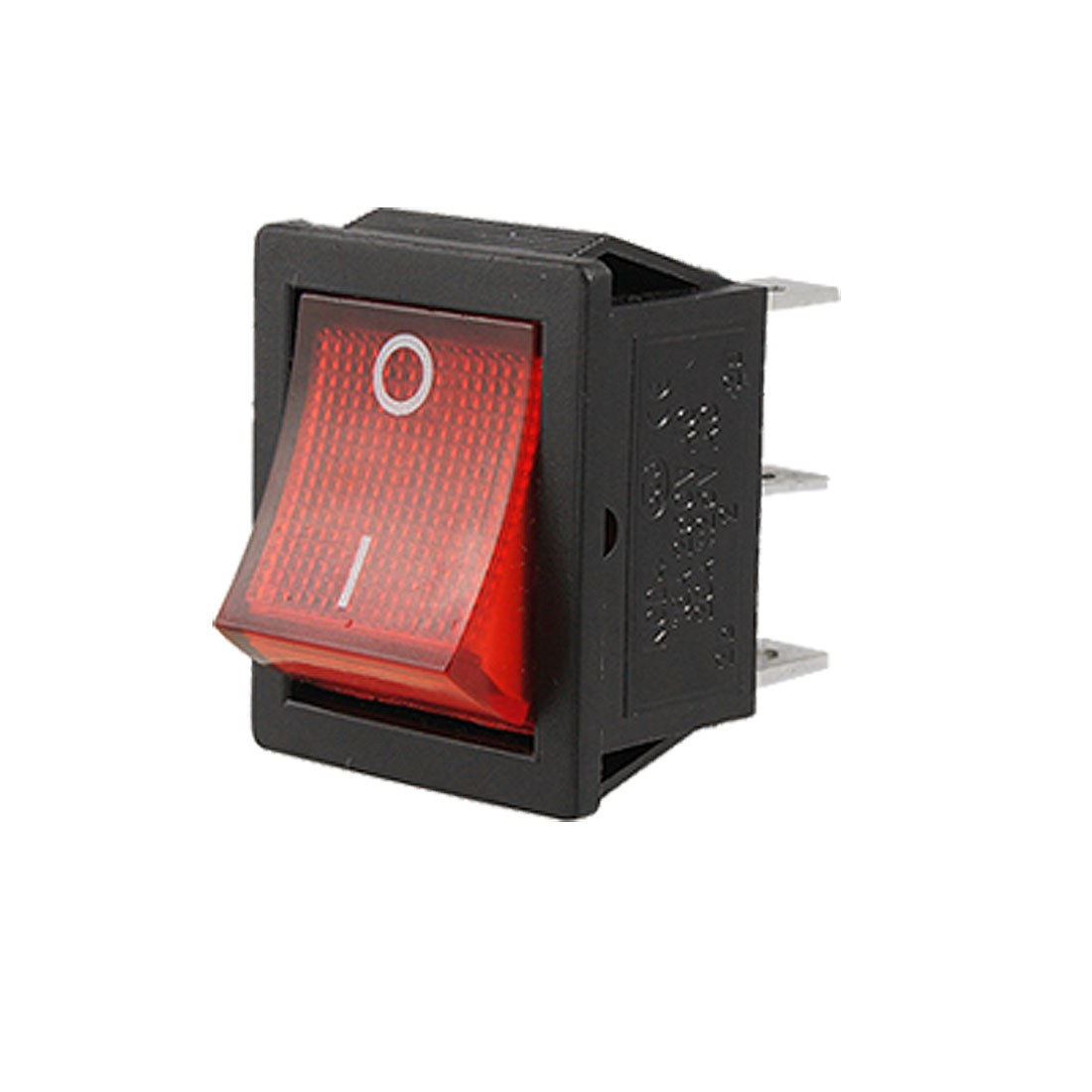 AC 16A/250V 20A/125V Red Light DPDT ON/ON Snap in Boat Rocker Switch 29x21.5mm