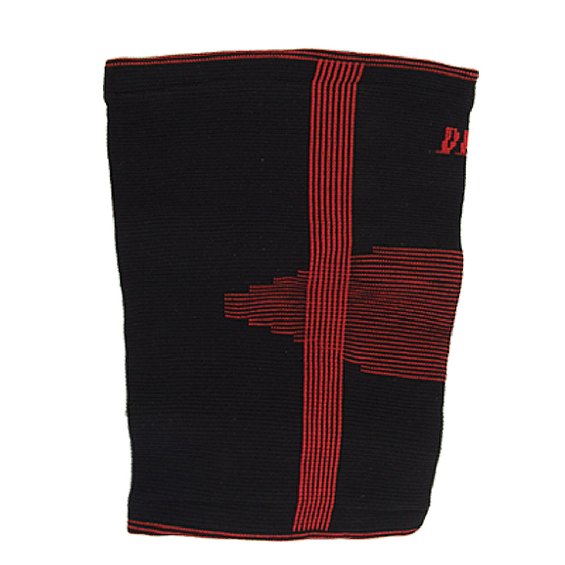 Sporting Pullover Style Elastic Black Red Arm Support Protector