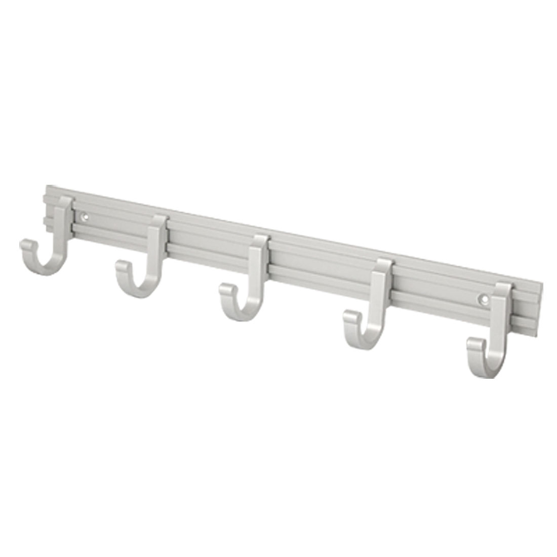 5 in 1 Aluminium Alloy Hooks Wall Mount Towel Holder
