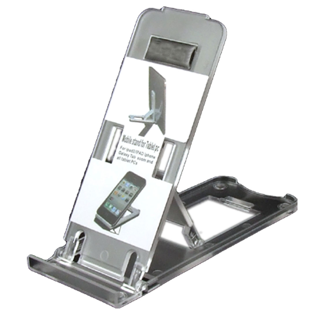 Clear Hard Plastic Folding Adjustbale Stand Bracket