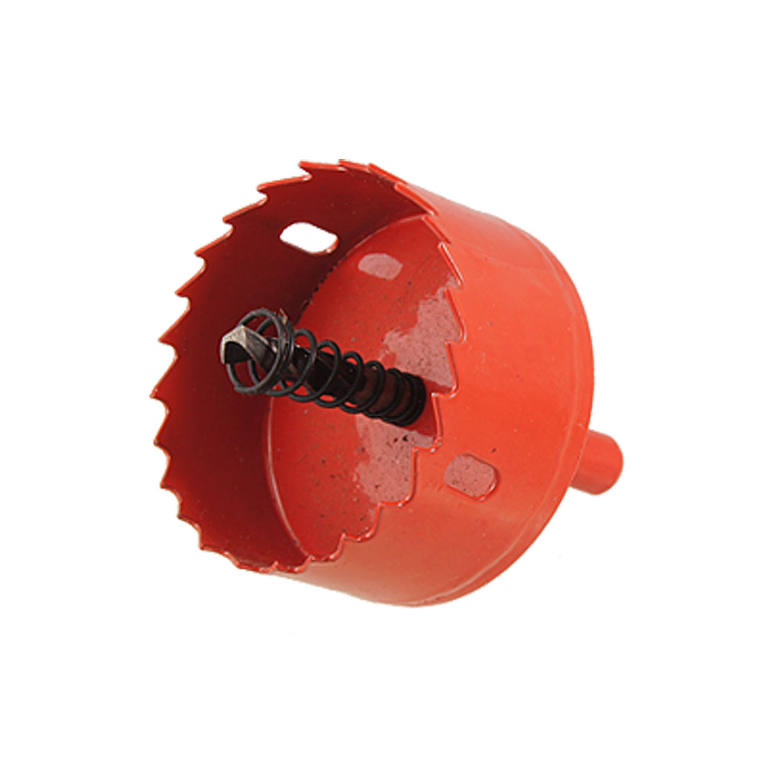 Wood Iron Cutting 6mm Drill Bit 60mm Diameter Bimetal Hole Saw Red