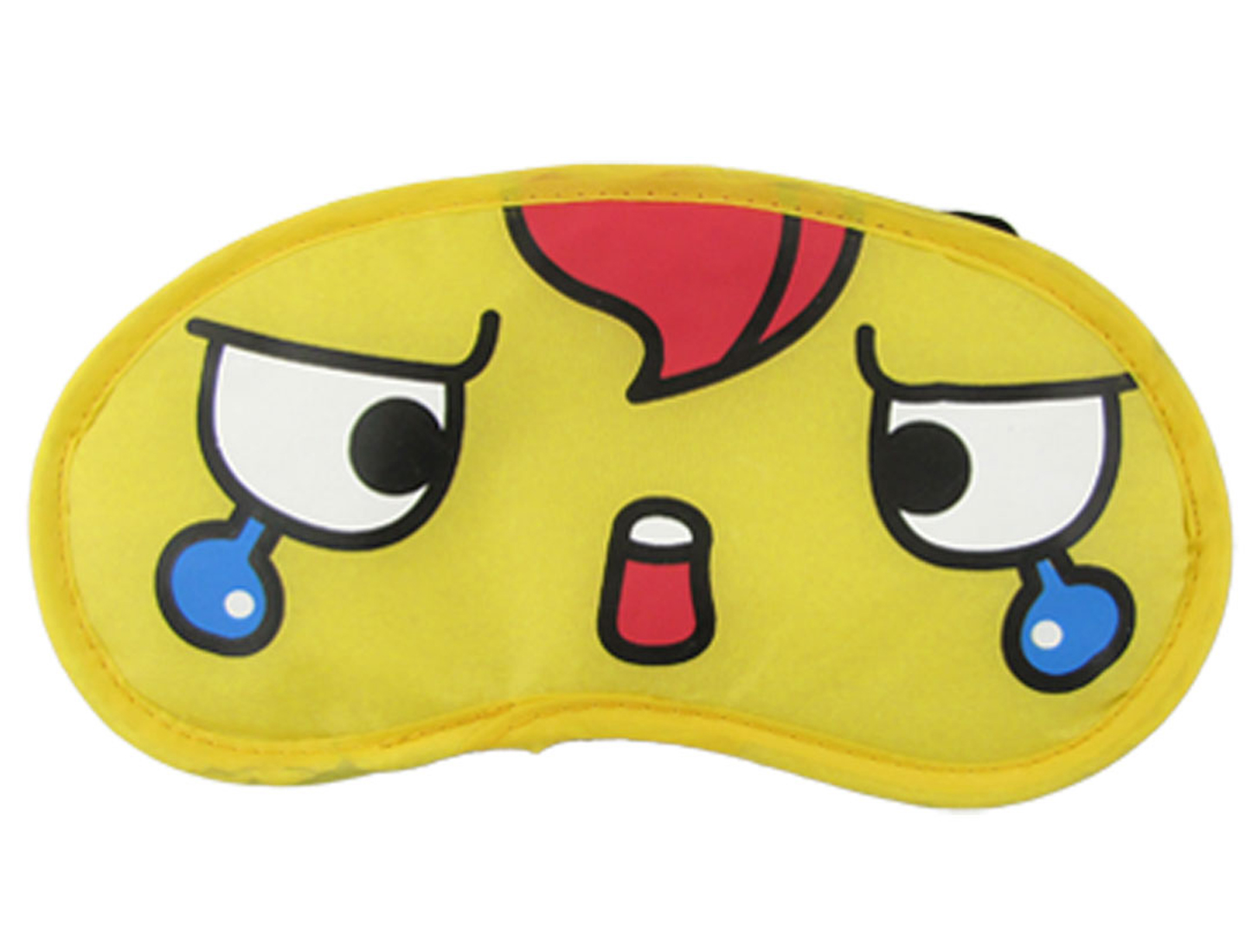 Stretch Band Travel Sleeping Nylon Eye Mask Cover Ylw