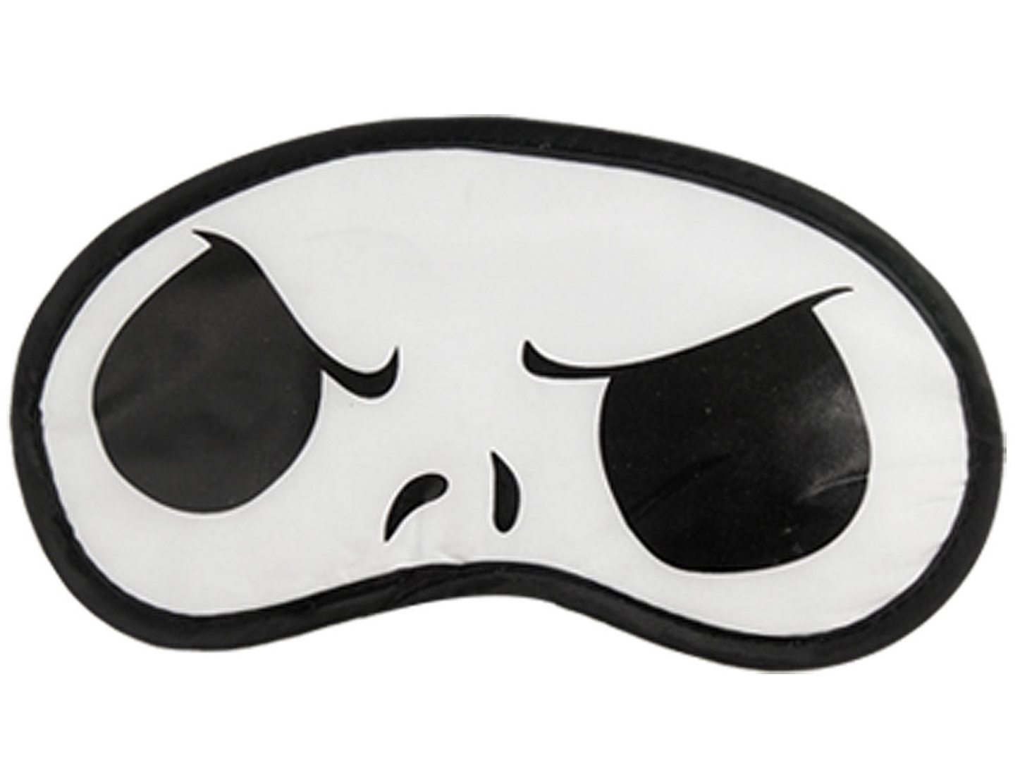 2 Pcs Elastic Strap Cartoon Panda Pattern Eye Mask Eyeshade