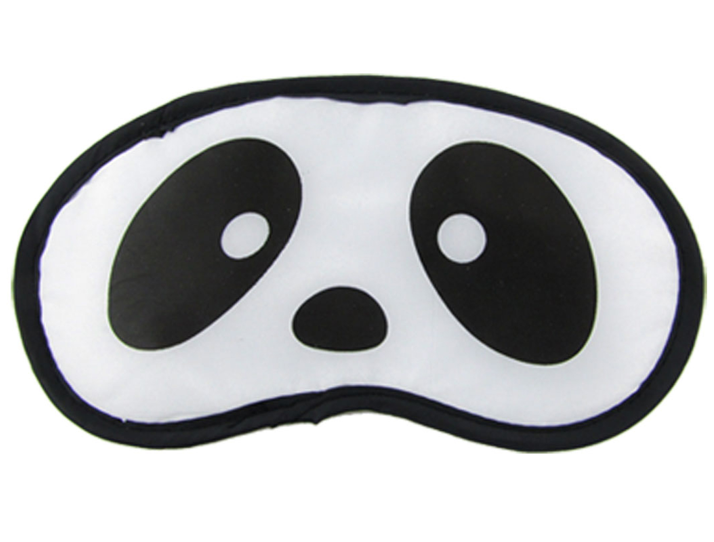 Panda Face Print Blindfold Sleeping Eye Shade Mask Patch White