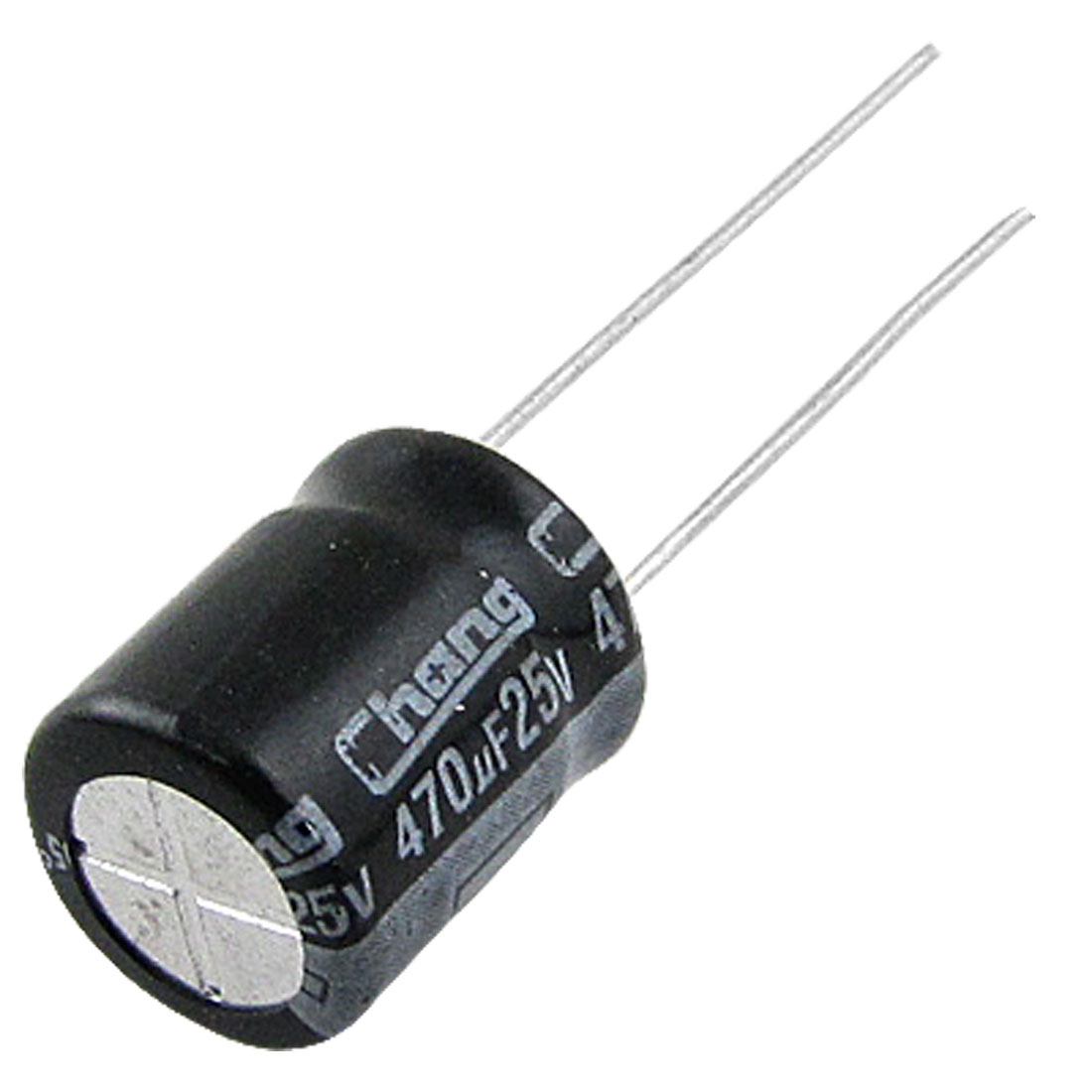 100 Pcs 8x11mm 470uF 25V Aluminum Electrolytic Capacitors