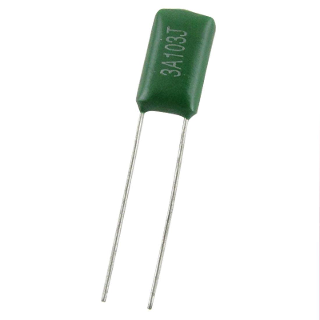 50 Pcs 1000V 5% 10000pF 10nF 0.01uF Mylar Polyester Film Capacitors