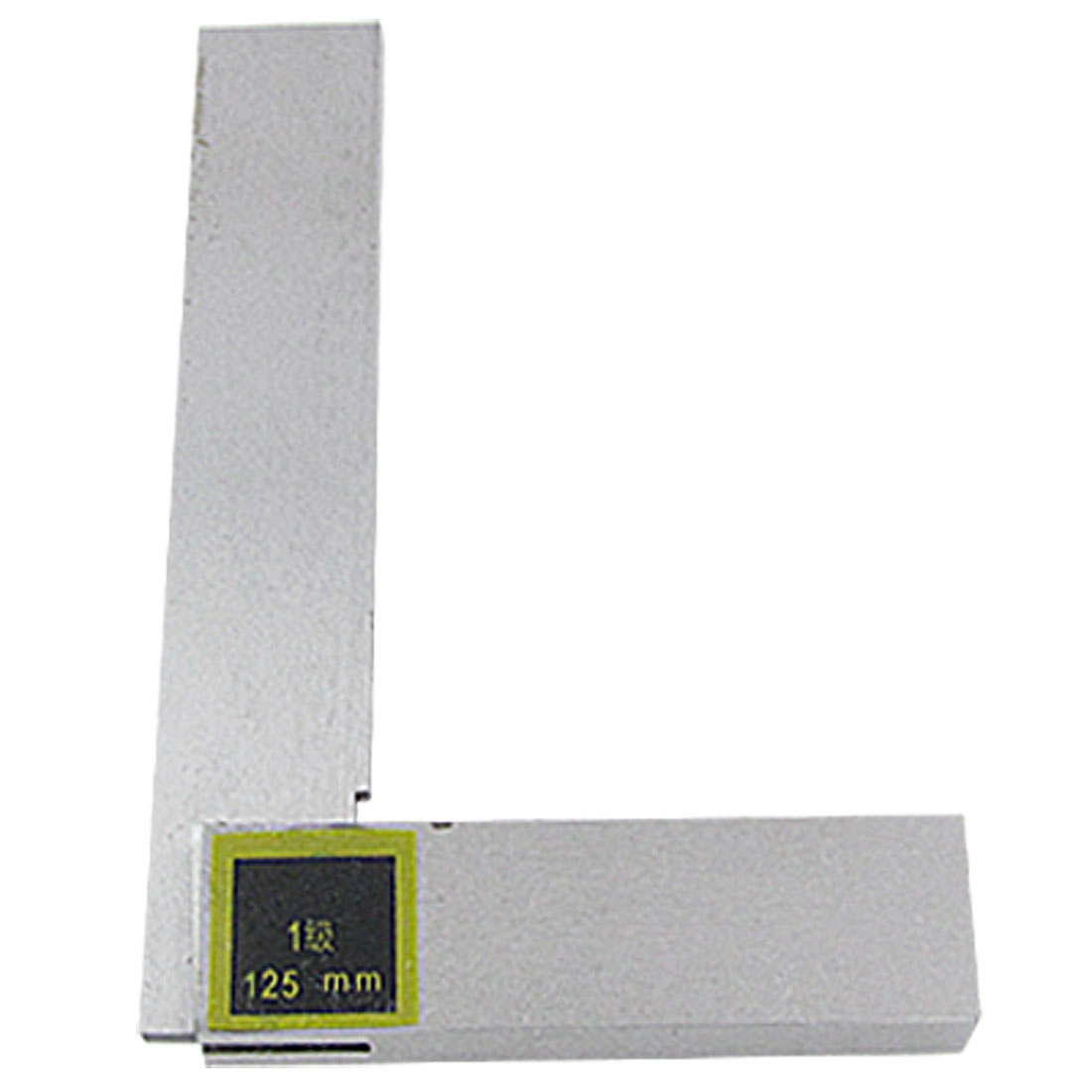 Non-marked Scales L Square Ruler Woodworking Tool 125mm x 80mm
