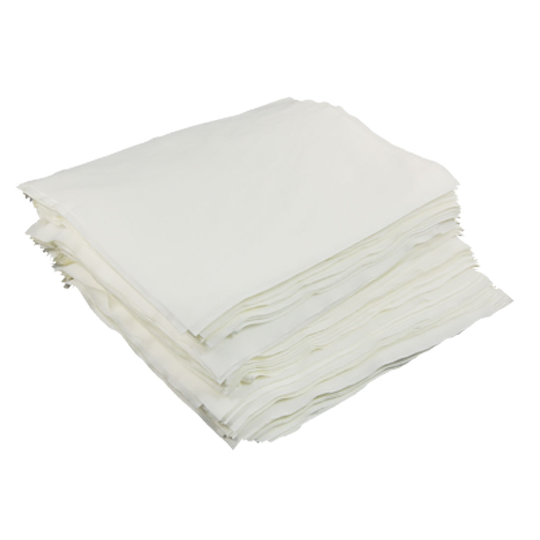"150 Pcs 8.5"" x 8"" Dustless White Cleanroom Wiper Cloth"