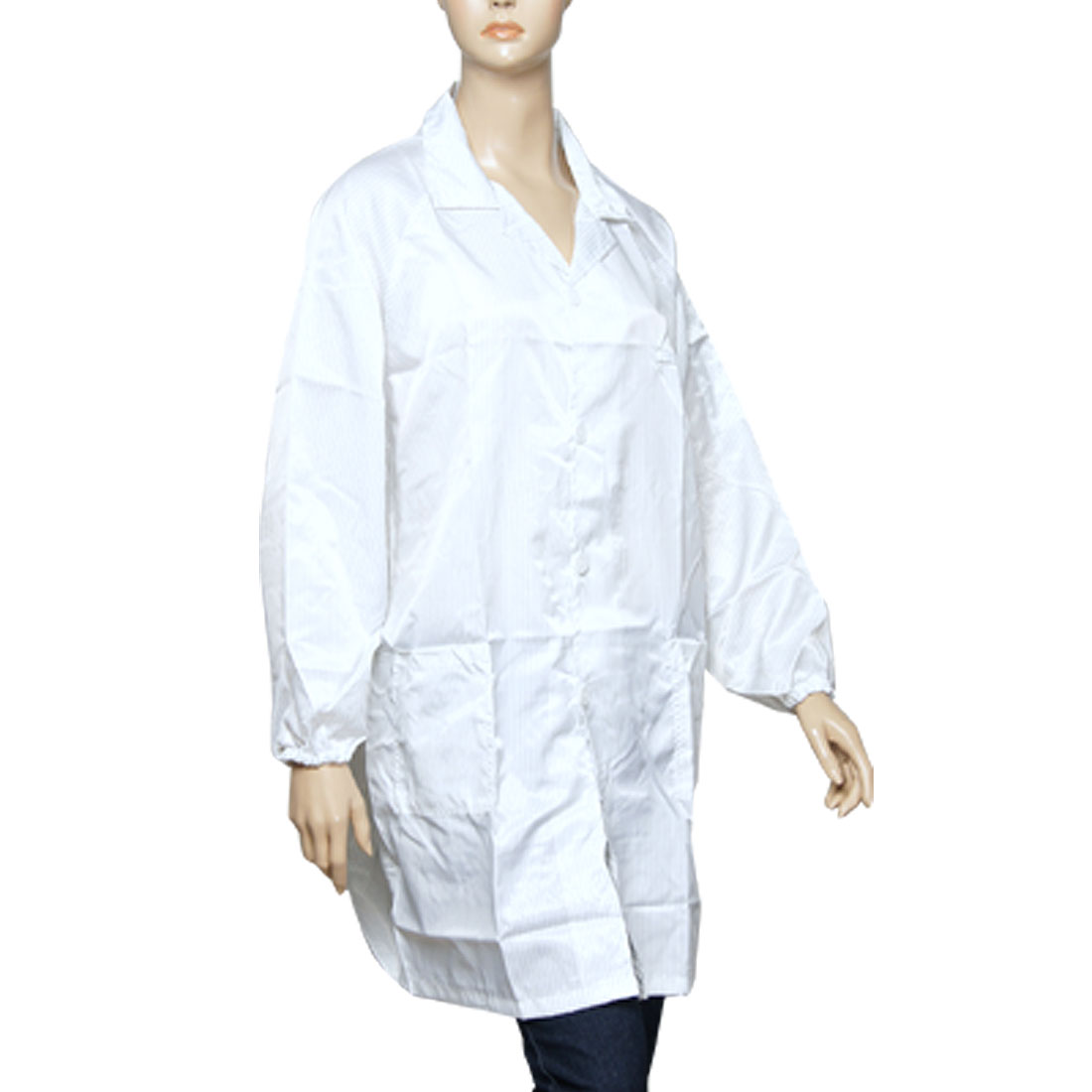 Button up White Point Antistatic Coat XL for Adult