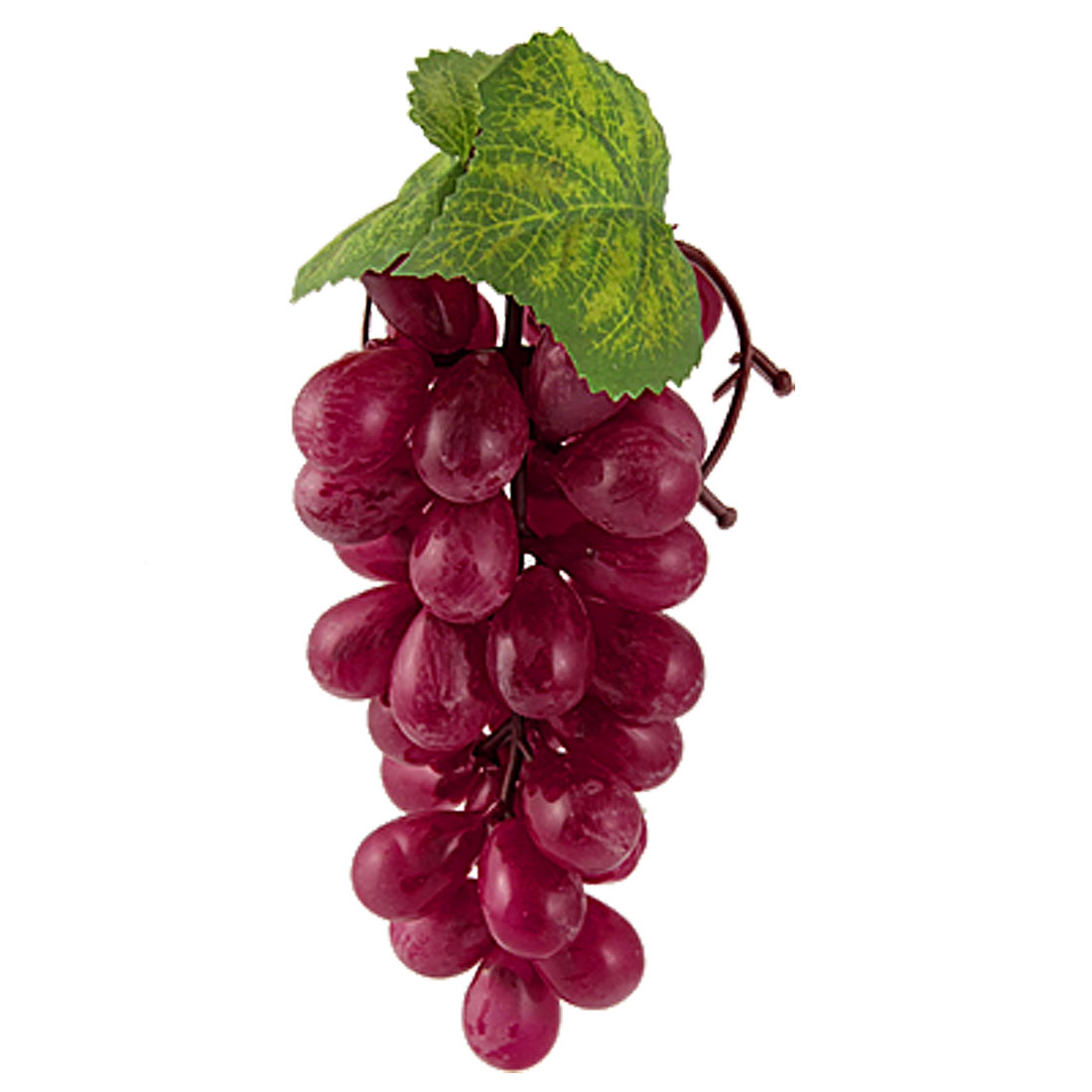 Red Fruit Artificial Decorative Cluster Plastic Grapes