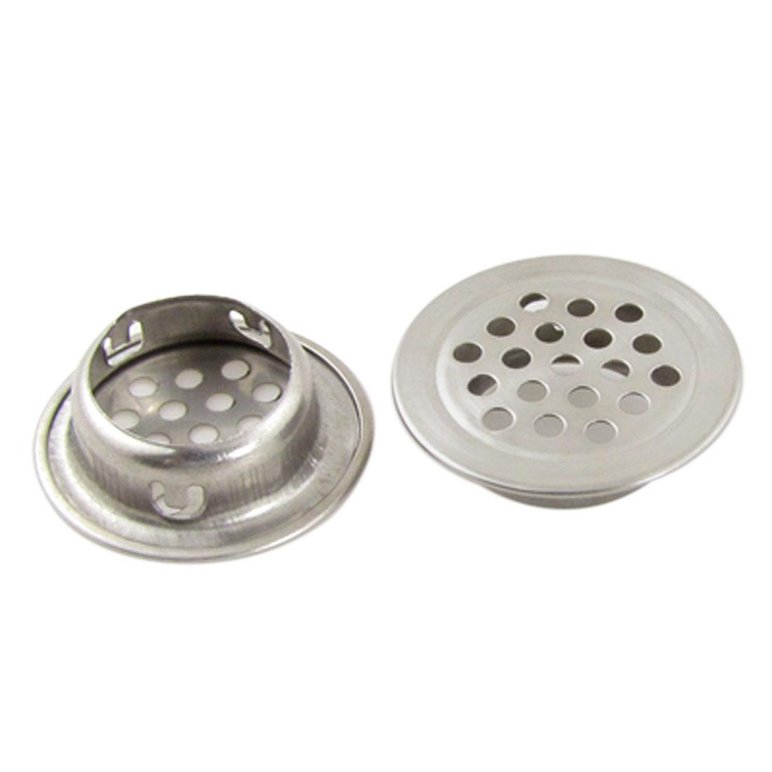 """2 Pcs Stainless Steel 1.3"""" Kitchen Sink Basin Drain Strainer"""