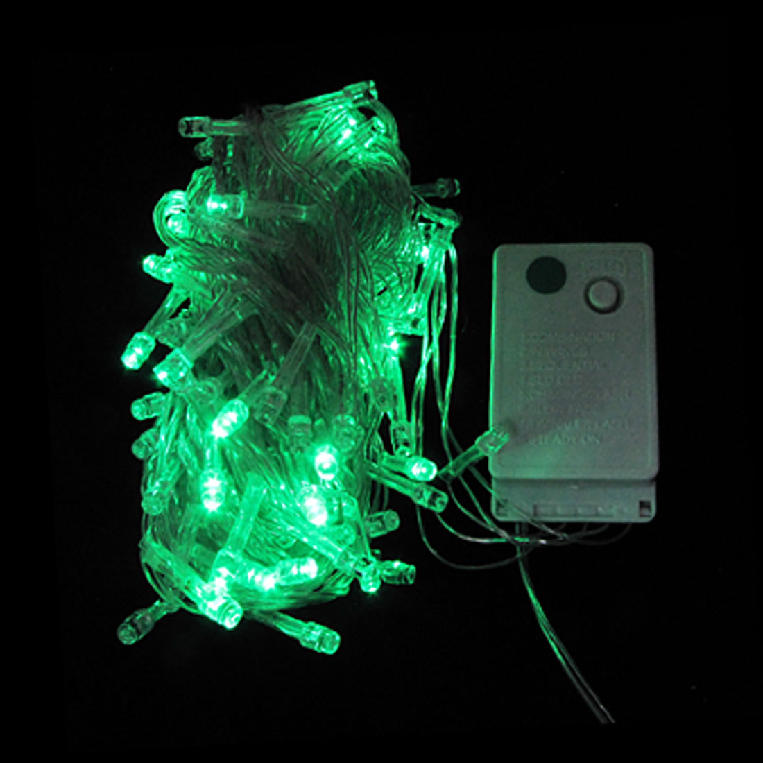 Wedding Xmas 100 Green LEDs String Light Lamp Decor 10M AC 110V US Plug