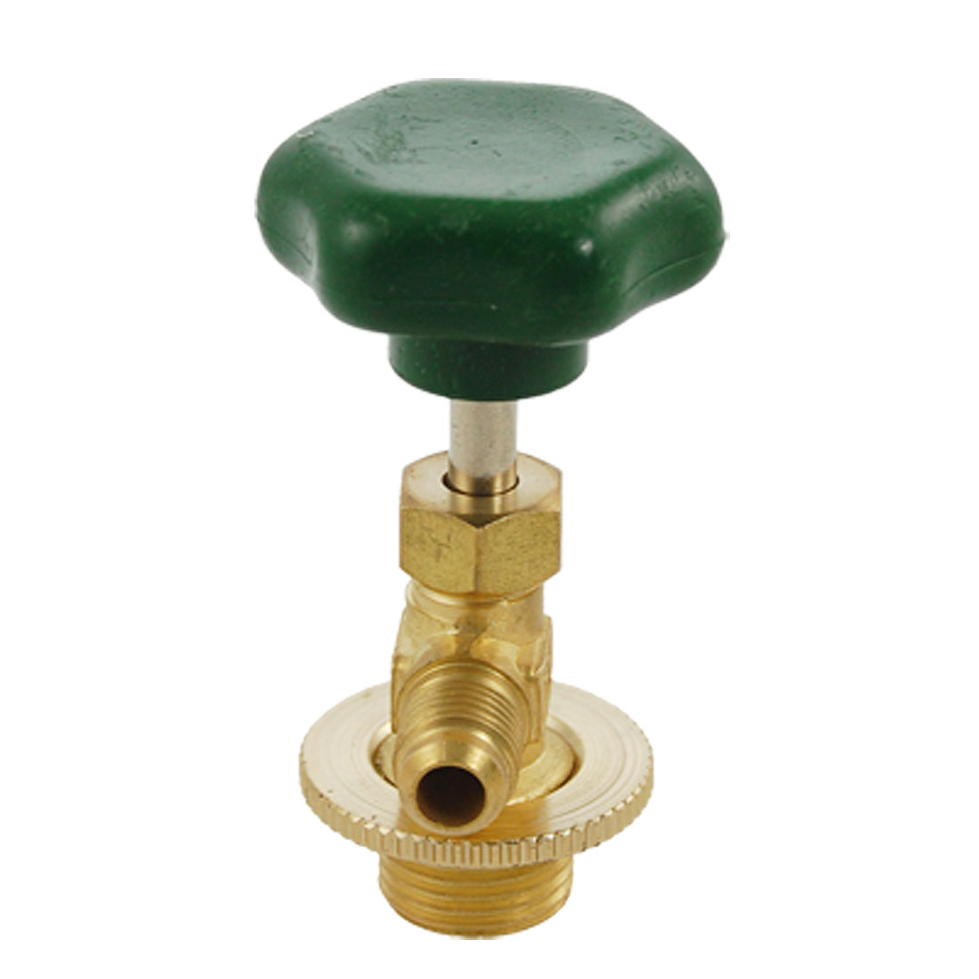 Spare Parts Gold Tone Refrigerant Can Tap Valve Opener