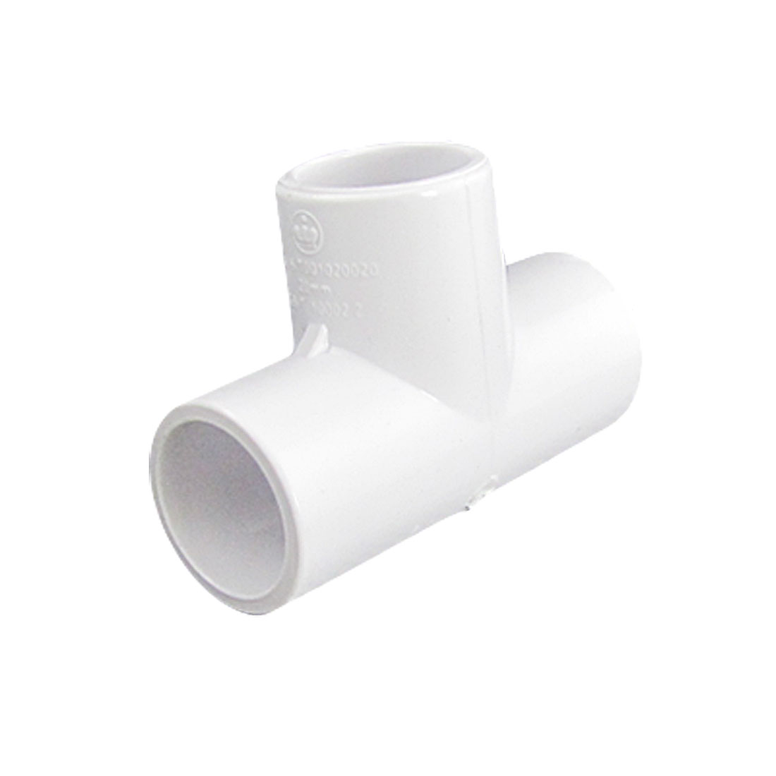 PVC-U 20mm Drinking Water Pipe Tee Adapter Connector
